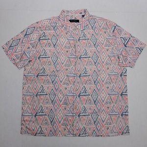 Tommy Bahama Short sleeve - silk polyester blend